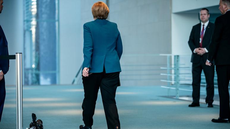 Welt: Меркель отправилась на домашний карантин после контакта с заразившимся врачом