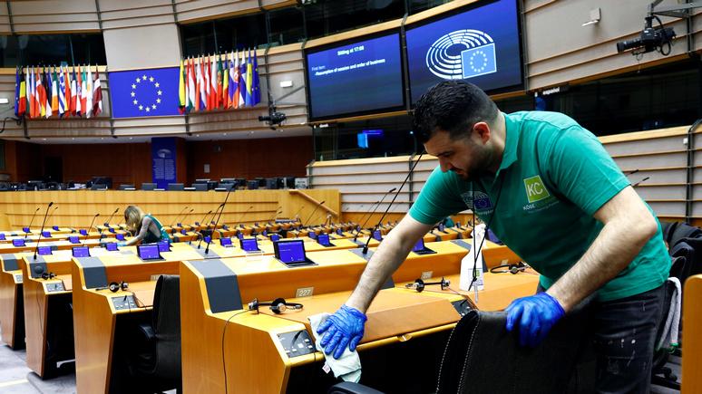 Французский политолог: кризис COVID-19 может оказаться роковым для Евросоюза