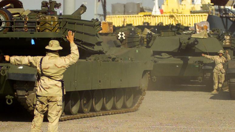 Times: морская пехота США отказывается от танков для эффективного противостояния Китаю и России