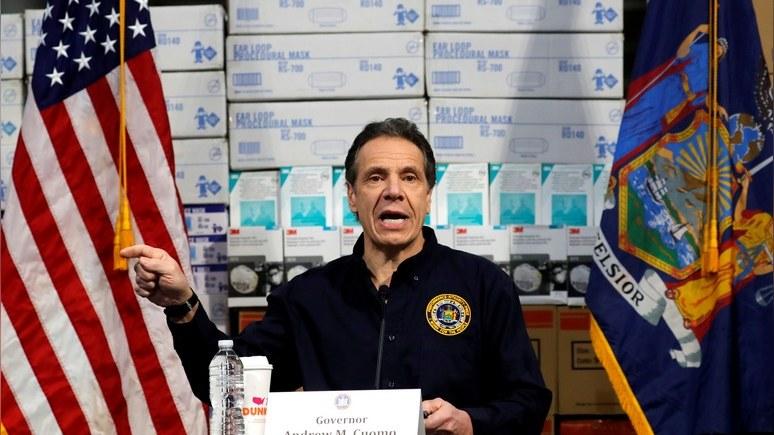 Жертвами коронавируса вНью-Йорке стали 519 человек, а клиник уже нехватает