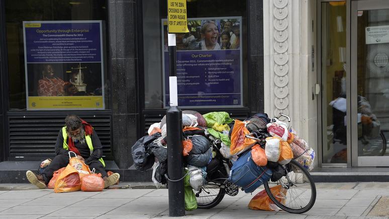 DT: доля британцев, живущих за чертой бедности, достигла рекордной отметки