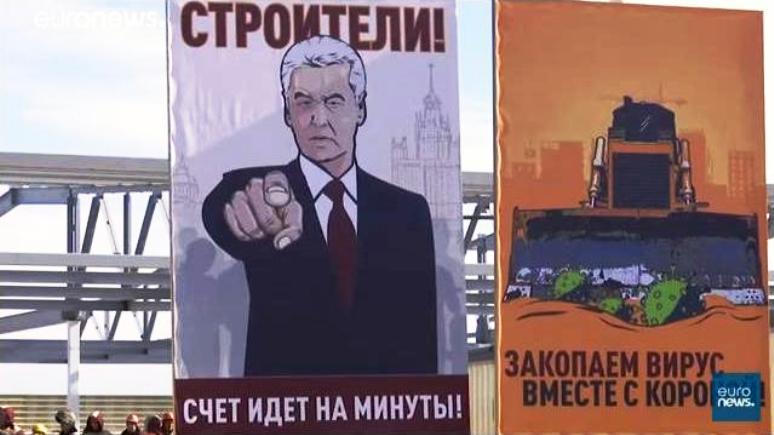 SRF: в сложные времена карантина москвичам повезло с мэром