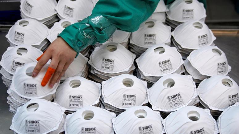 Libération: «платят вдвое больше и наличными» — в китайском аэропорту американцы перекупили маски, предназначенные для Франции