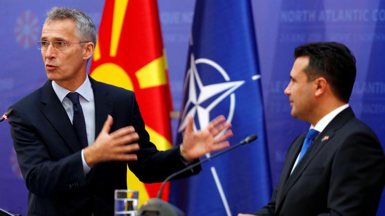 Onet: включение Северной Македонии в НАТО стало для России «щелчком по носу» — но она этого так не оставит