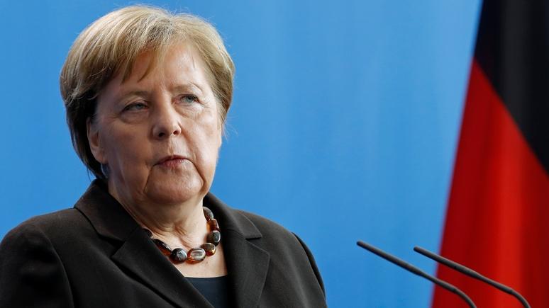 Bloomberg: Меркель вышла из самоизоляции и призвала сограждан оставаться дома