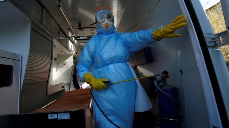 Le Monde: эпидемия сыплет соль на рану украинской системы здравоохранения