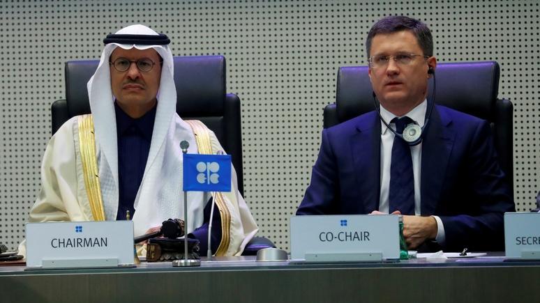 CNBC: из-за переноса переговоров ОПЕК цены на нефть ждёт новый обвал