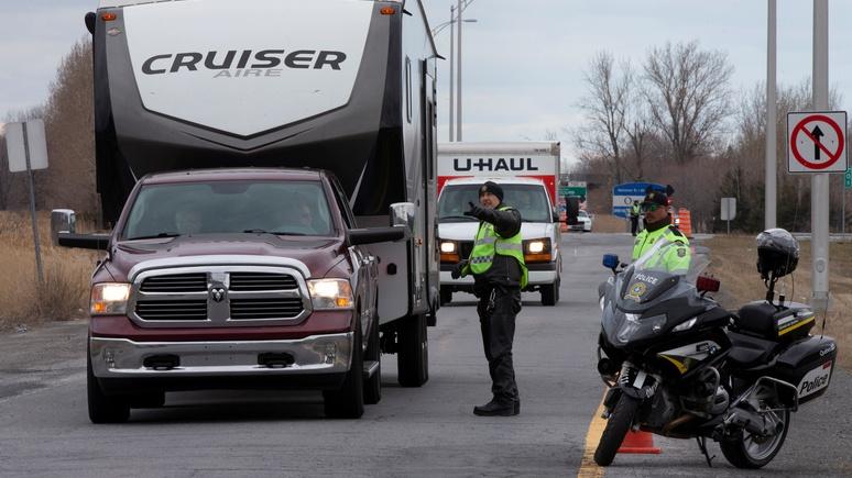 JDM: полиции Квебека позволили на месте штрафовать нарушителей карантина