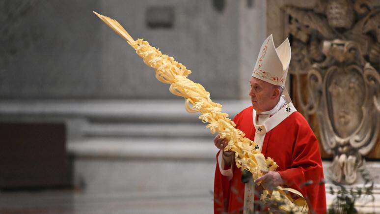 CNN: Папа Римский видит в пандемии коронавируса ответ природы на климатический кризис