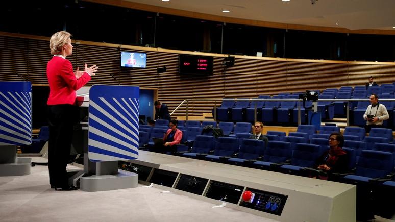 Welt: у Брюсселя появился план — выходить из эпидемии надо постепенно