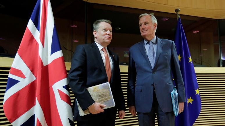 Le Figaro: сделка Великобритании с ЕС может стать ещё одной жертвой коронавируса