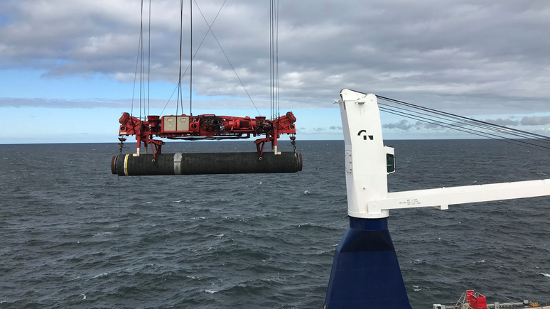 N-TV: российский корабль идёт достраивать «Северный поток — 2»