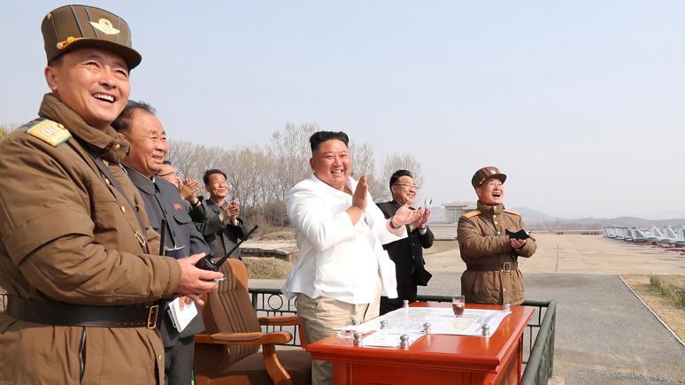 AT: «под прикрытием коронавируса» — Ким провёл уже пятые ракетные испытания в этом году