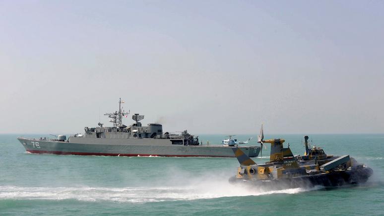 Washington Examiner: иранские суда опасно сблизились с флотом ВМС США в Персидском заливе