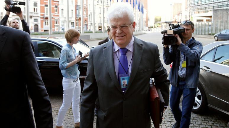 Die Welt: постпред России при ЕС предложил Брюсселю военное сотрудничество