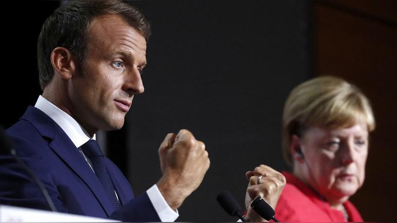 Telegraph: эпидемия COVID-19 даёт Макрону шанс лишить Меркель «европейской короны»