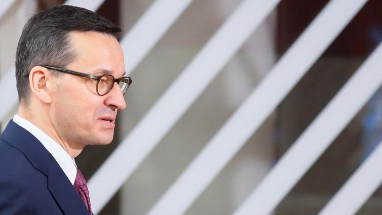 Премьер Польши Моравецкий: без предложений от ЕС Украина и Белоруссия уйдут к России