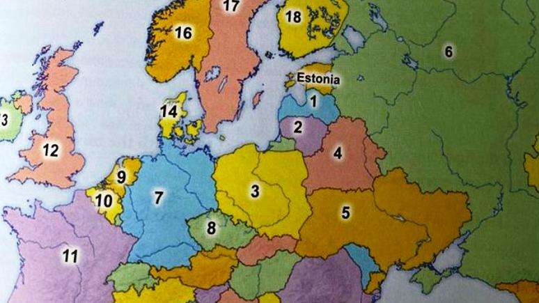 ERR: украинцы обнаружили в эстонских учебниках английского российский Крым