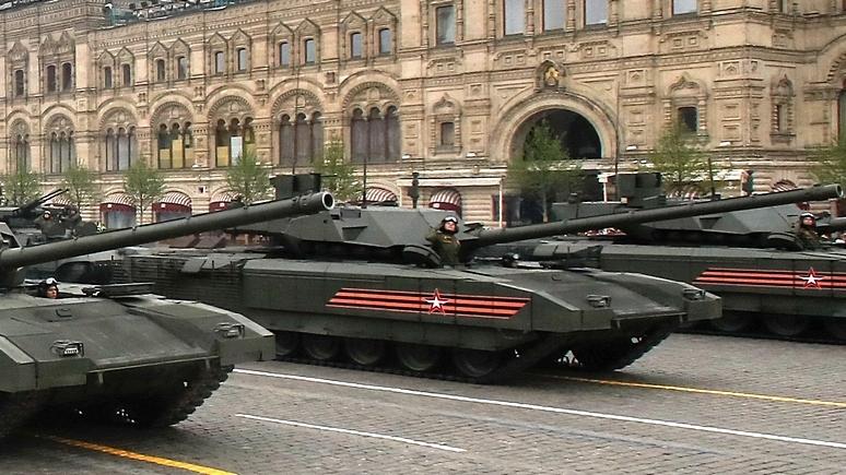 Drive: боевые испытания «Арматы» в Сирии повышают экспортную ценность российских танков