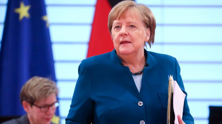 Die Welt: «полная противоположность Трампу» — в эпоху кризиса Меркель доказала, что она надёжный и опытный политик