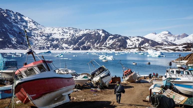 Fox News: США помогут Гренландии, чтобы сдержать активность России и Китая в Арктике