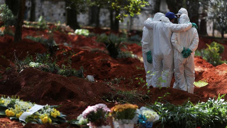 Le Monde: в Бразилии копают могилы впрок — больницы не справляются с эпидемией COVID-19