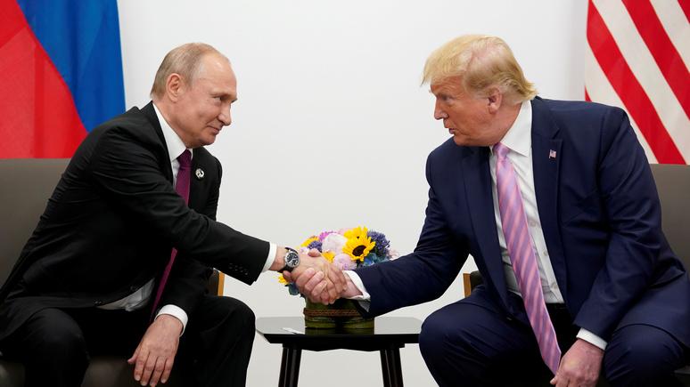 WSJ: совместное заявление Трампа и Путина встревожило Вашингтон