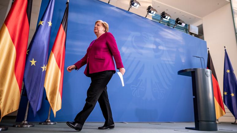 FAZ: Германия — не гегемон и не может «тащить» ЕС в одиночку