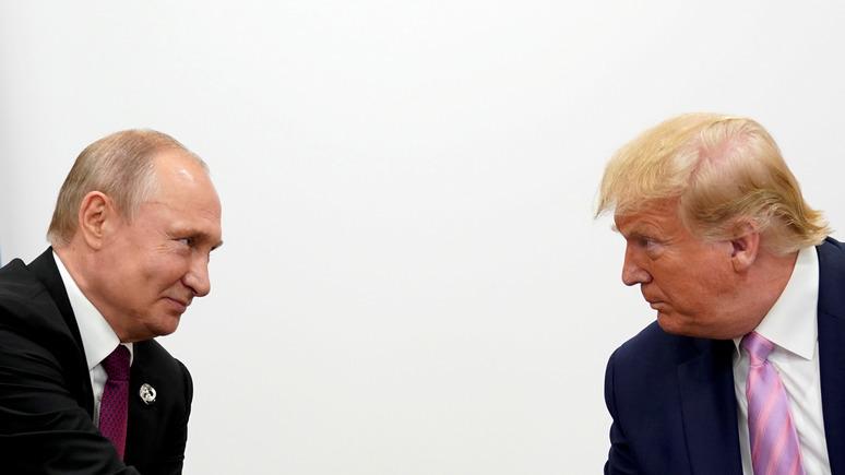 Dziennik: совместное заявление Трампа и Путина важнее отменённого парада 9 Мая