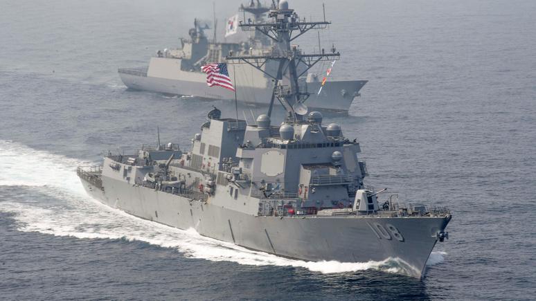 WT: впервые с конца холодной войны — ВМС США и Британии зашли в Баренцево море