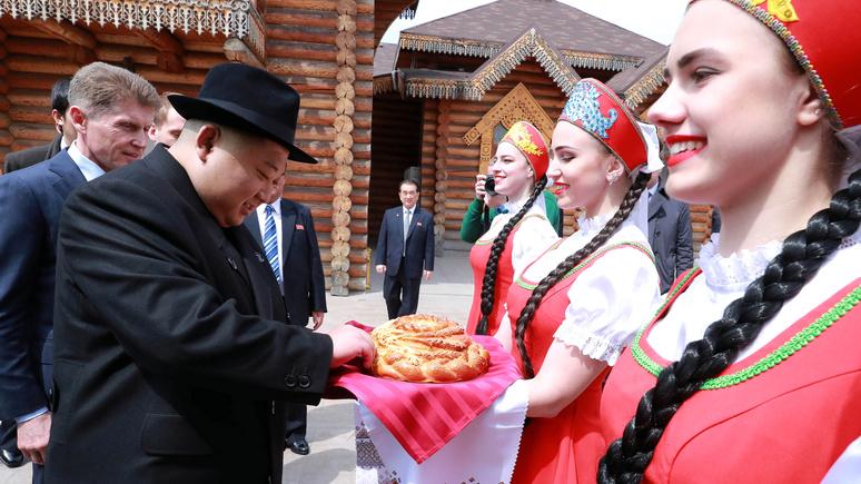 Могли бы обойтись хлебом-солью — Times о «подарке» Кремля по возвращении Кима