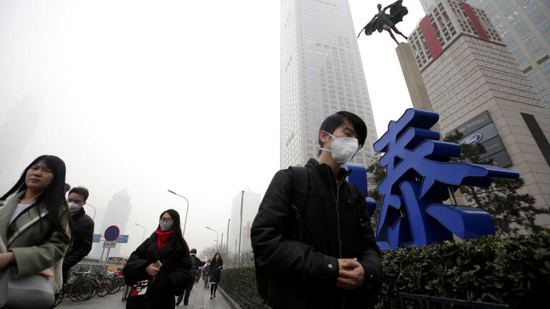 SCMP: выход из карантина стоил Китаю чистого воздуха