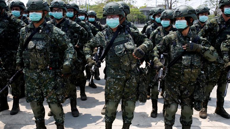 The Times: всё больше китайцев видят в пандемии шанс присоединить Тайвань