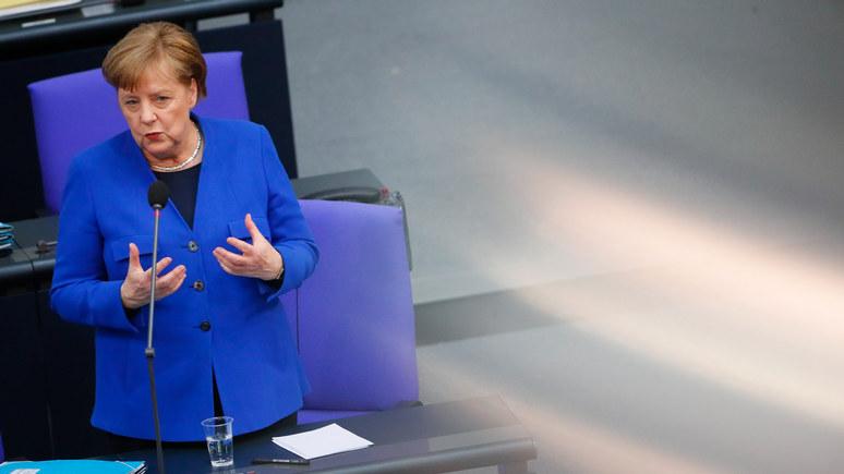 Меркель: гибридная стратегия России мешает наладить с ней хорошие отношения