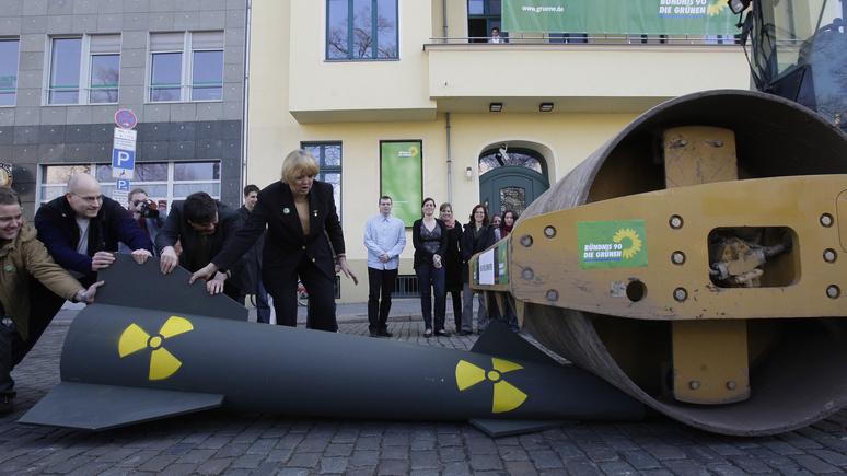 Немецкий политик: безопасность Европы обеспечит не ядерное устрашение, а разоружение