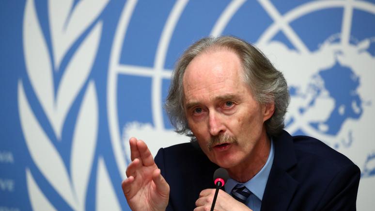 Спецпосланник ООН по Сирии: Россия и США могут сыграть важную роль в сирийском мирном урегулировании