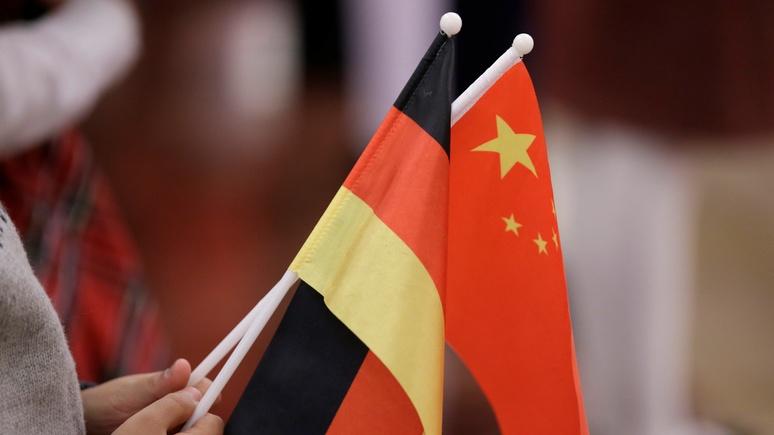 NZZ: новая эра в геополитике — Китай стал для немцев так же важен, как США