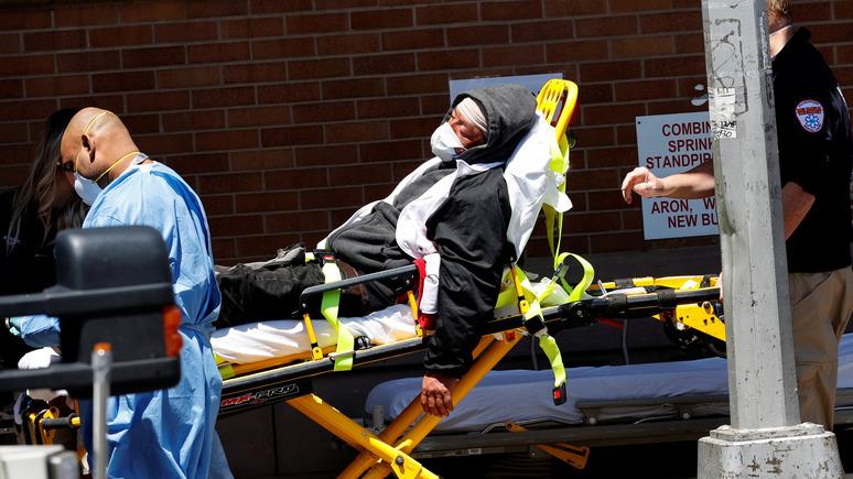 NYT: истинное число погибших от коронавируса в Америке уже превышает 100000