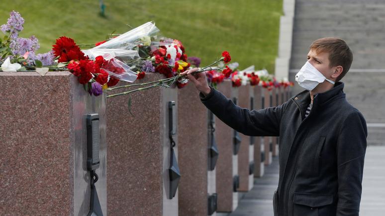 Корреспондент: опрос показал отношение украинцев к Дню Победы