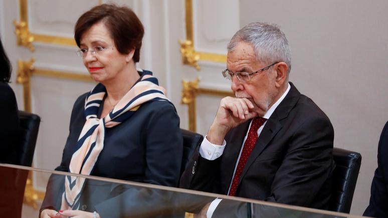 Bild: президента Австрии застали за нарушением комендантского часа