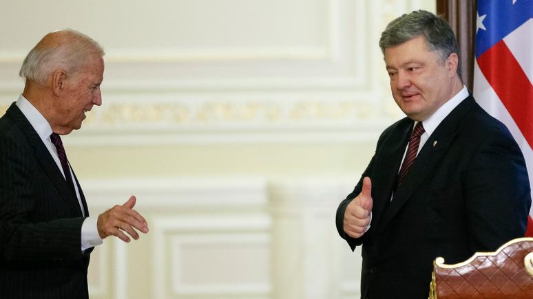 УП: экс-послы США на Украине отреагировали на скандал вокруг Порошенко и Байдена