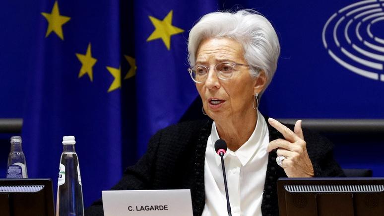 Daily Express: ЕЦБ признал, что Европа столкнулась с кризисом небывалых масштабов