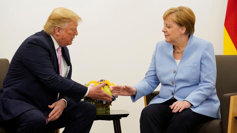 Politico: Меркель отказалась приехать в Вашингтон на саммит G7