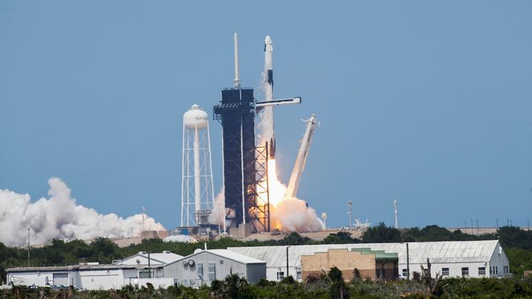 National Post: удачный полёт Dragon 2 вернёт США независимость от России в космосе