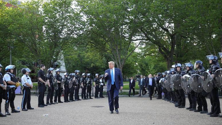Sky News: Трамп пригрозил использовать армию для подавления протестов