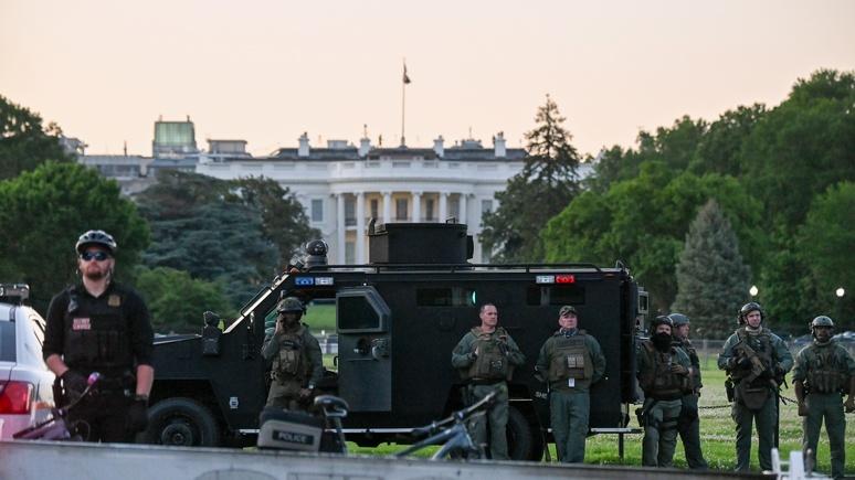 ZDF: жестокий разгон протестов ставит США в один ряд с диктатурами