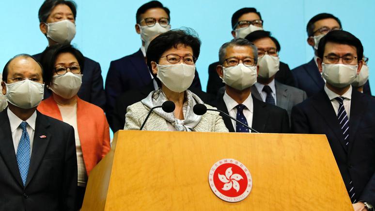 Al Jazeera: власти Гонконга обвинили США в «двойных стандартах»