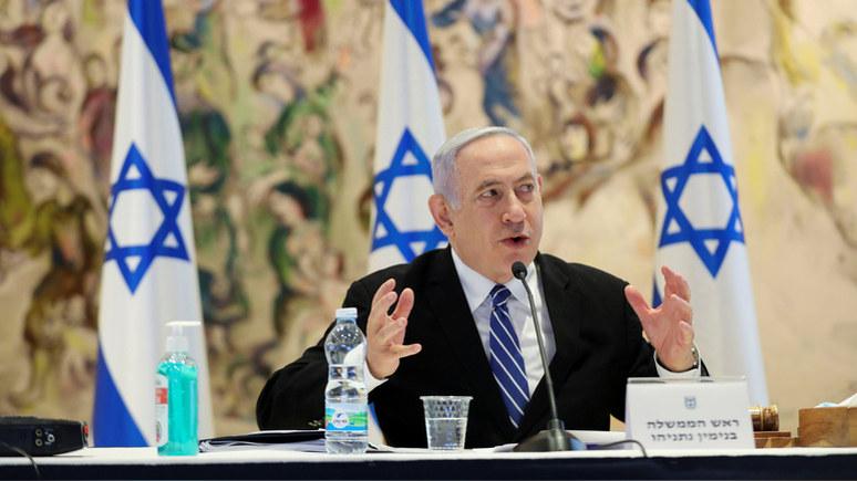 Haaretz: Нетаньяху пожаловался в полицию на угрозу убийством в интернете