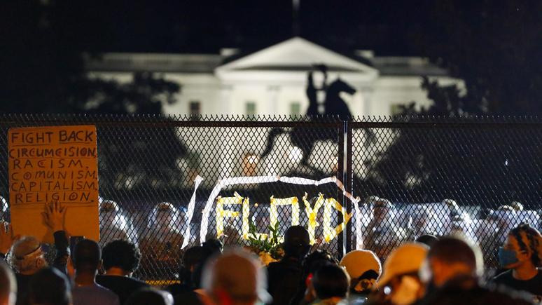 Hill: Пентагон направил 1,6 тыс. военных в охваченный протестами Вашингтон