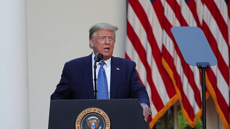N-TV: всплеск насилия в США увеличит шансы Трампа остаться на второй срок